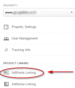 adwords linking to google analytics