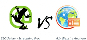 Screaming Frog vs. A1