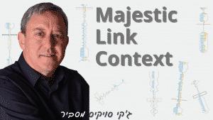 מה זה Majestic Link Context